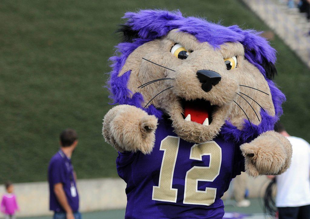 Western Carolina Catamounts Mascot Paws the Catamount