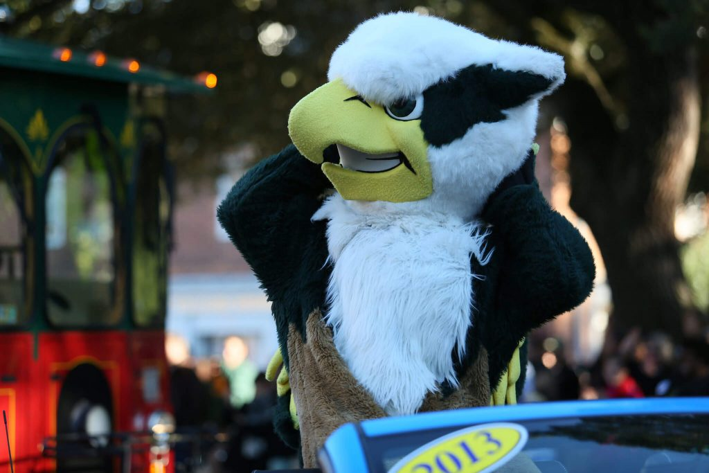 William Mary mascot Griffin