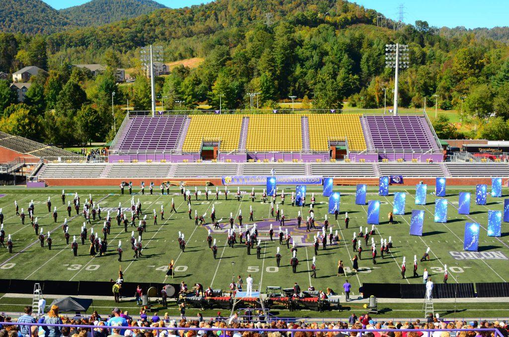 Western Carolina Catamounts E J Whitmire Stadium