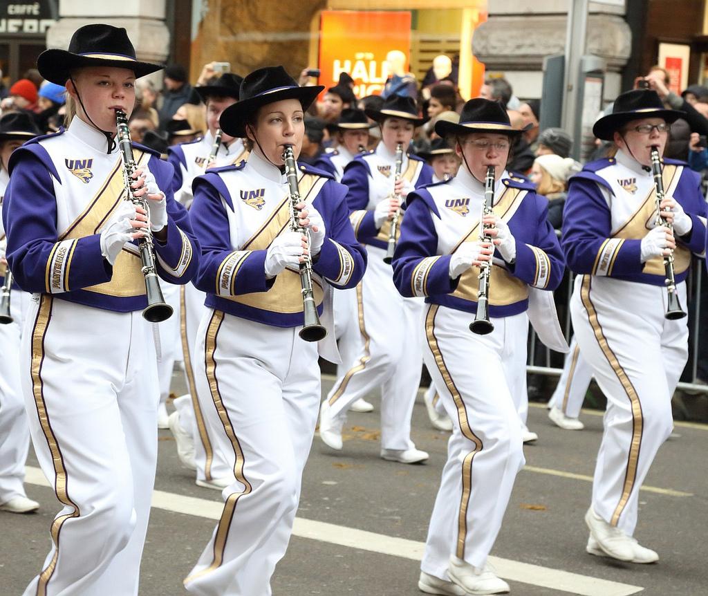 UNI Panthers homecoming parade