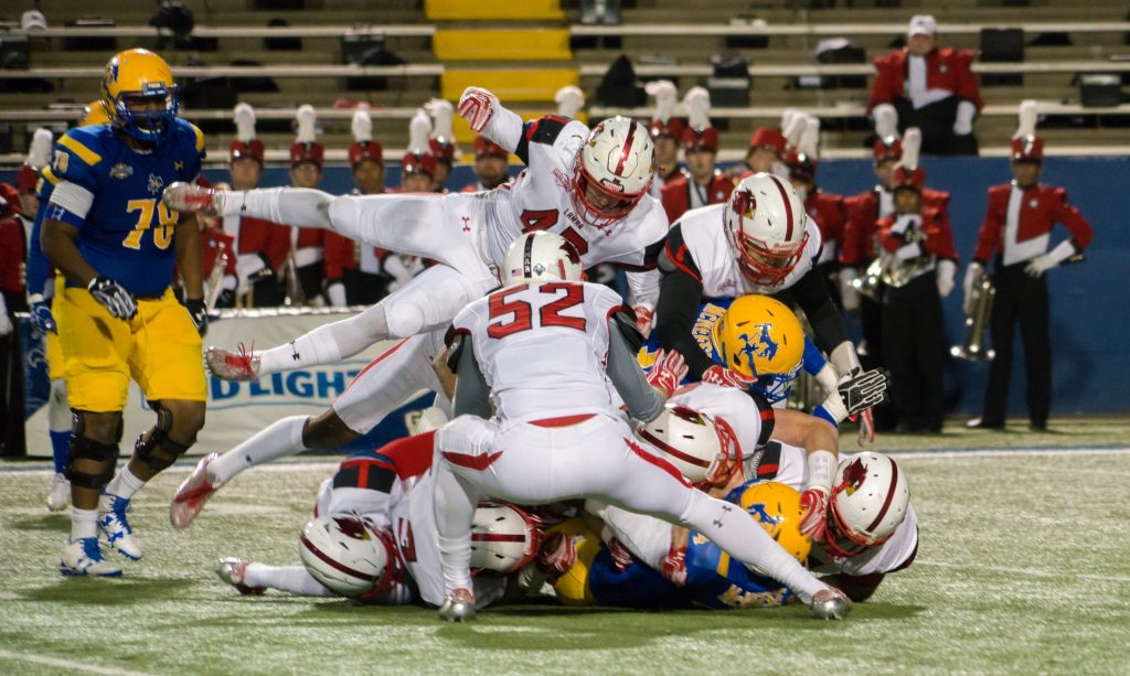 McNeese State Cowboys Lamar Cardinals Battle of the Border