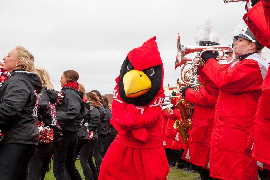 Illinois State Redbirds mascot Reggie