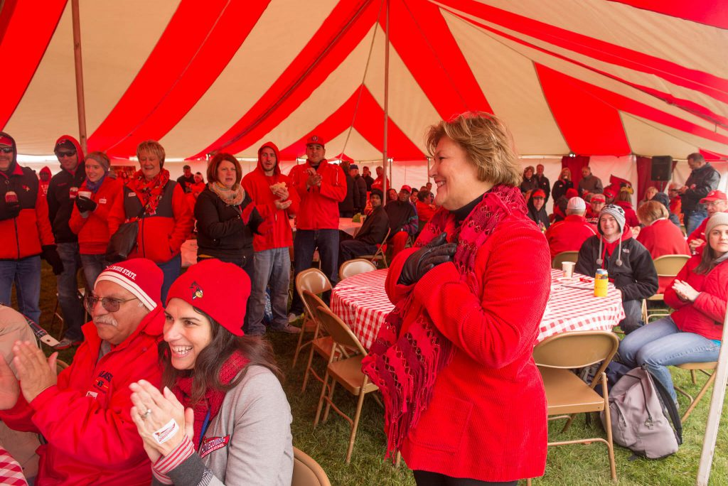 Illinois State Redbirds tailgate