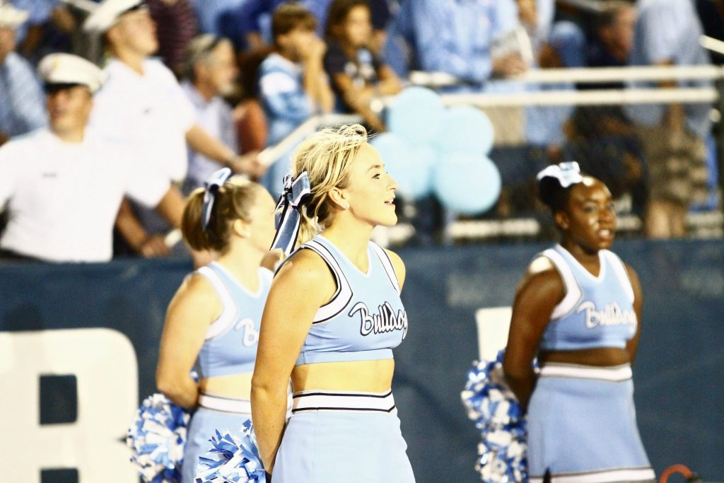 Citadel Bulldogs Cheerleaders