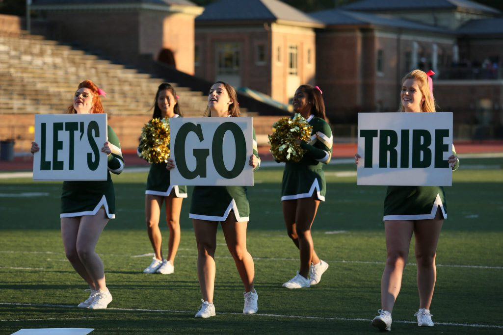 William Mary Tribe Cheerleaders