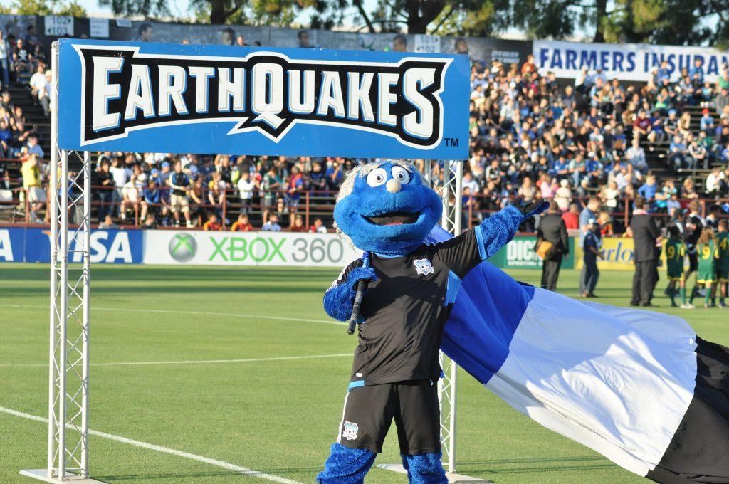 San Jose Earthquakes Mascot Q