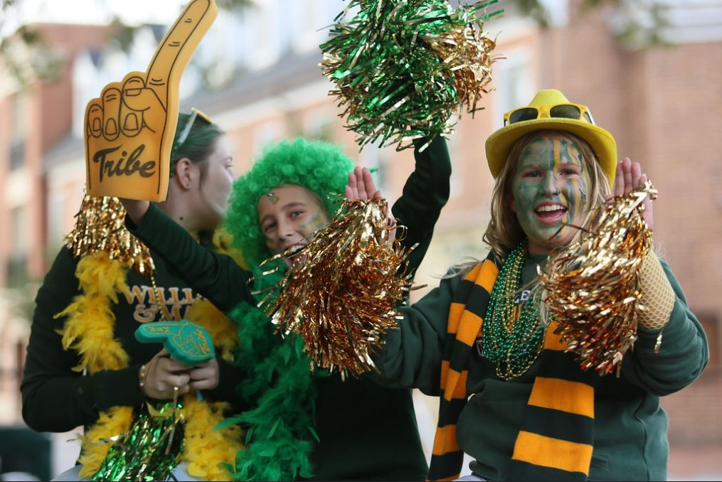 William and Mary Homecoming Parade
