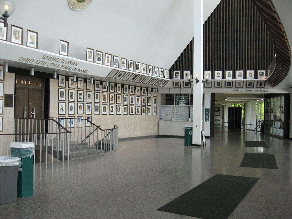 Ohio Bobcats Convocation Center HOF