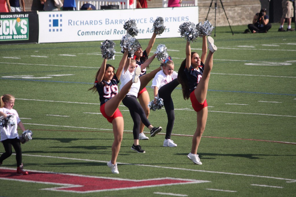 Boston Cannons dancers