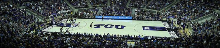 Daniel Meyer Coliseum Schollmaier Arena TCU Horned Frogs basketball