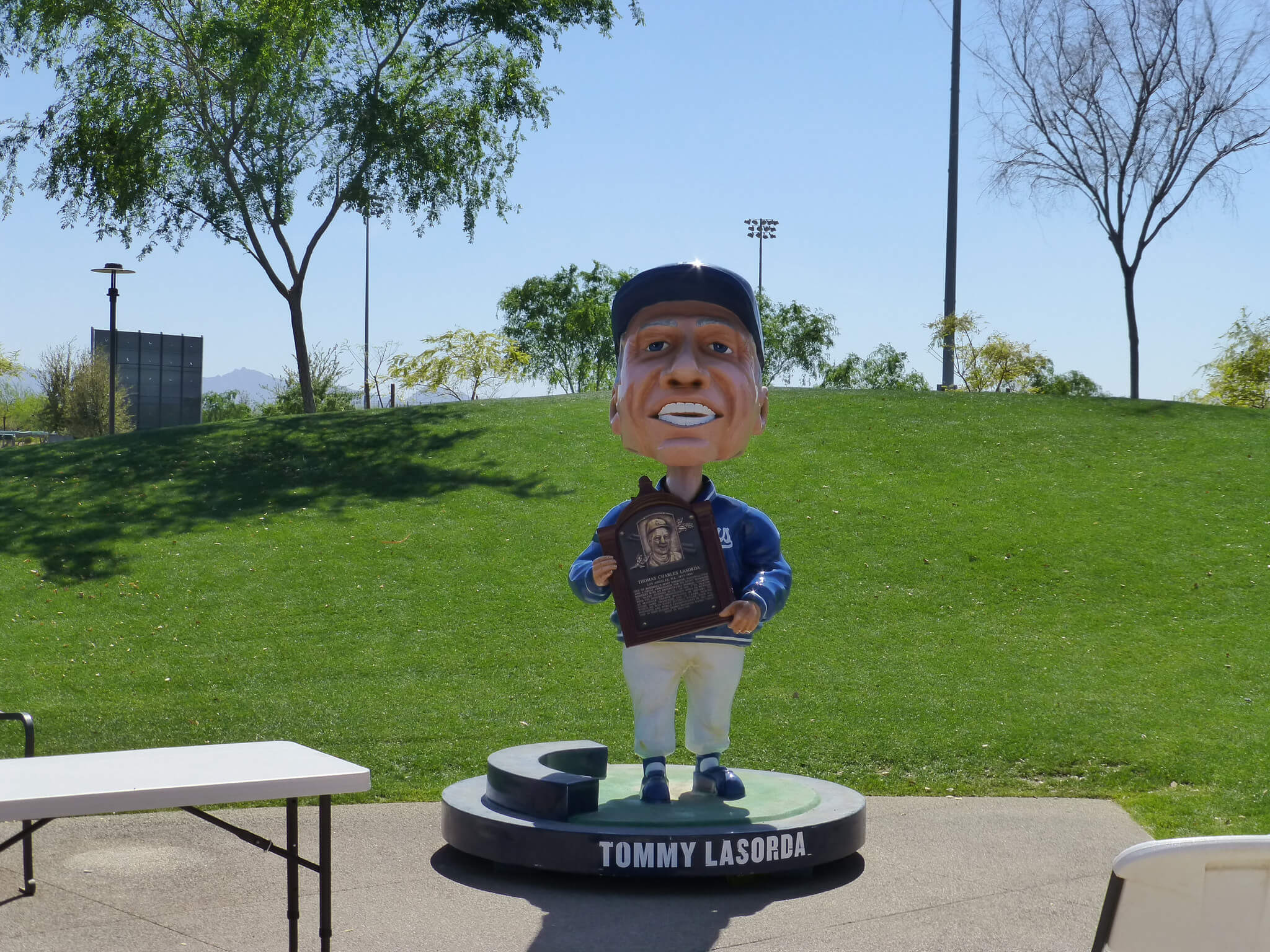 Los Angeles Dodgers Spring Training Camelback Ranch Tommy Lasorda Bobblehead