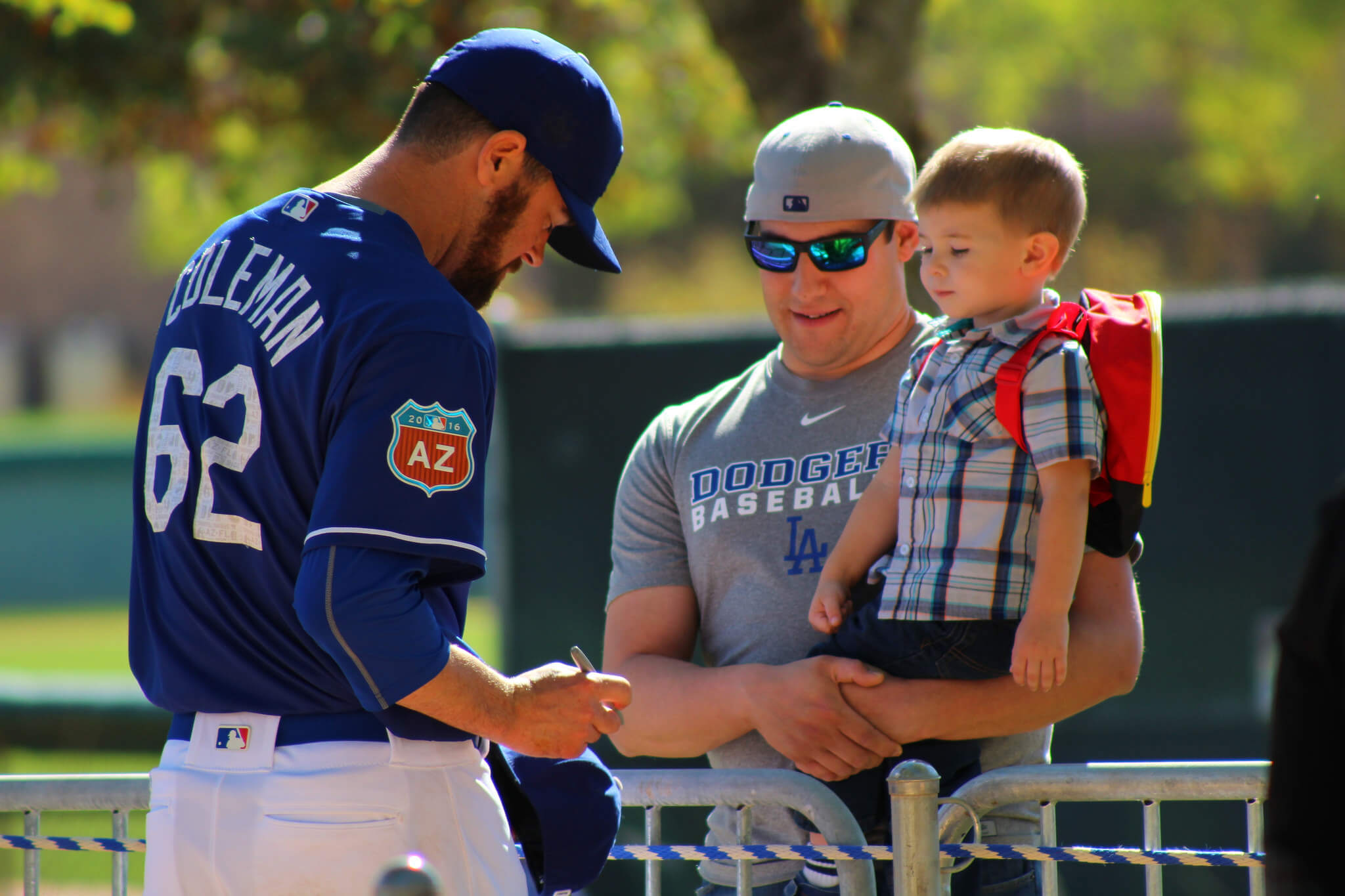 Los Angeles Dodgers Spring Training Camelback Ranch autograph