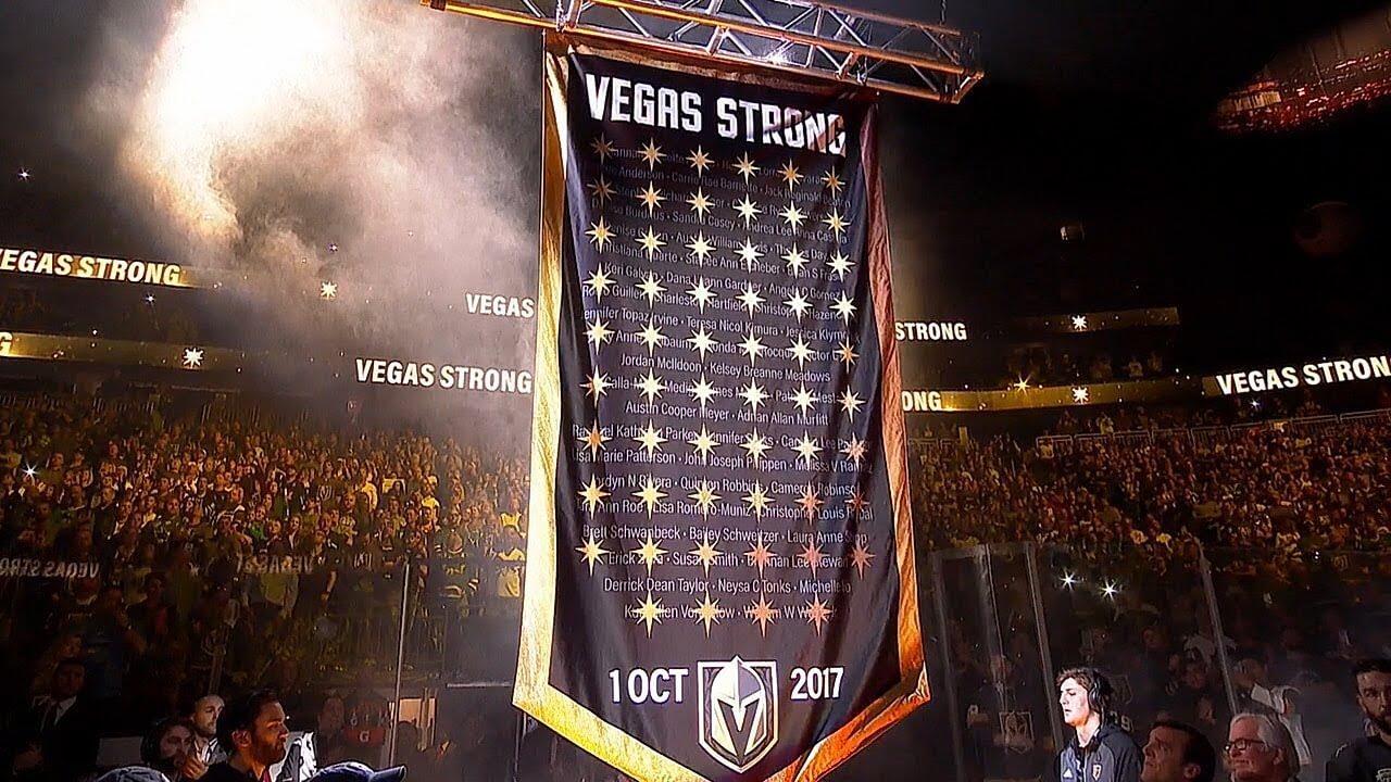 Vegas Golden Knights retired 58