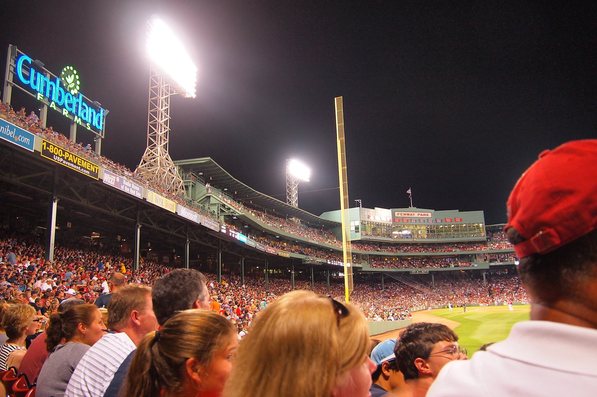 Boston Red Sox fans game