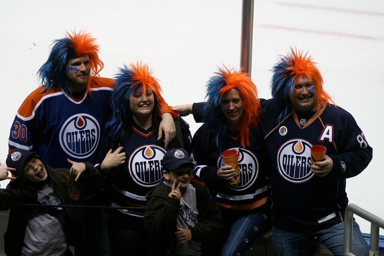 Edmonton Oilers fans