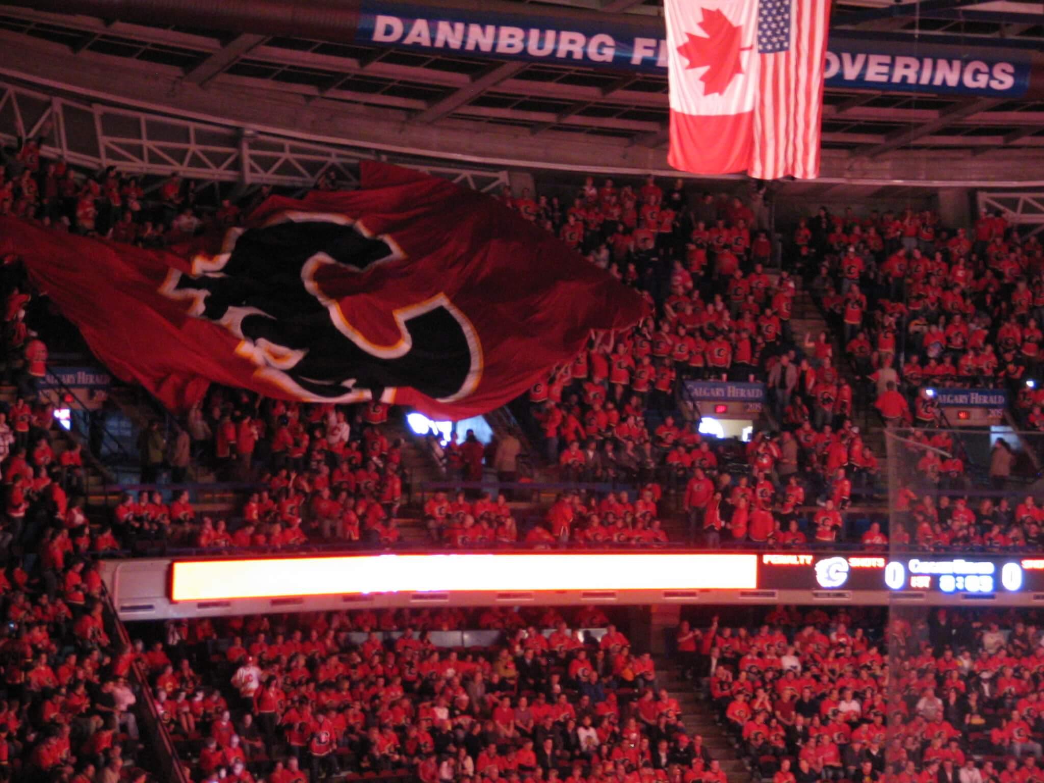 Calgary Flames fans