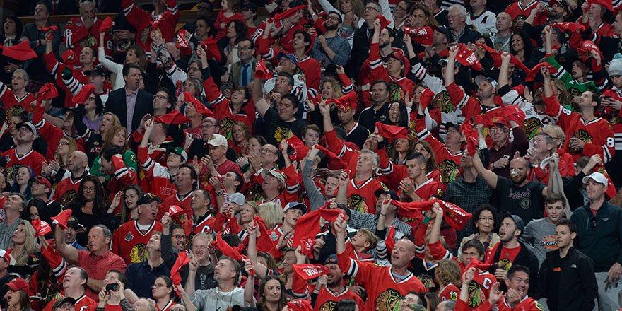 Chicago Blackhawks fans
