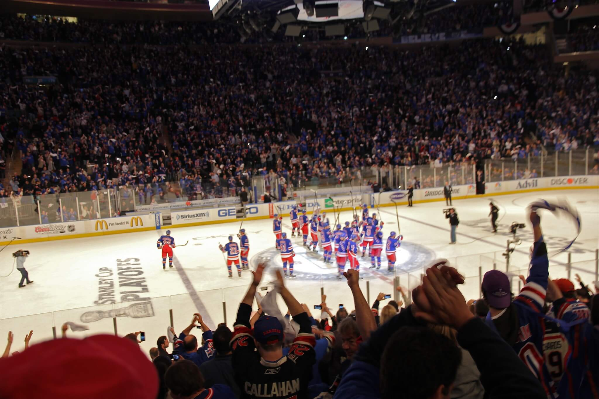 New York Rangers fans