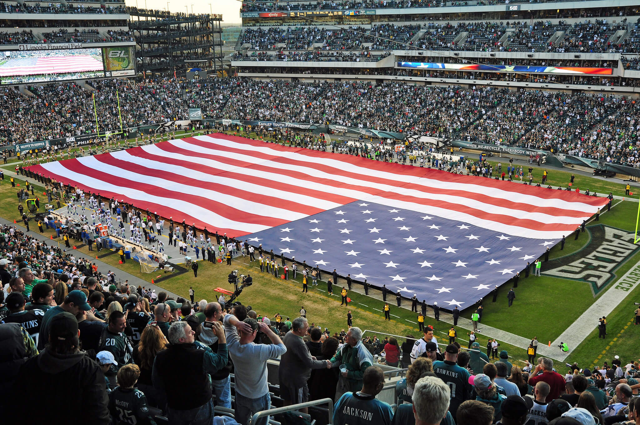 Philadelphia Eagles fans