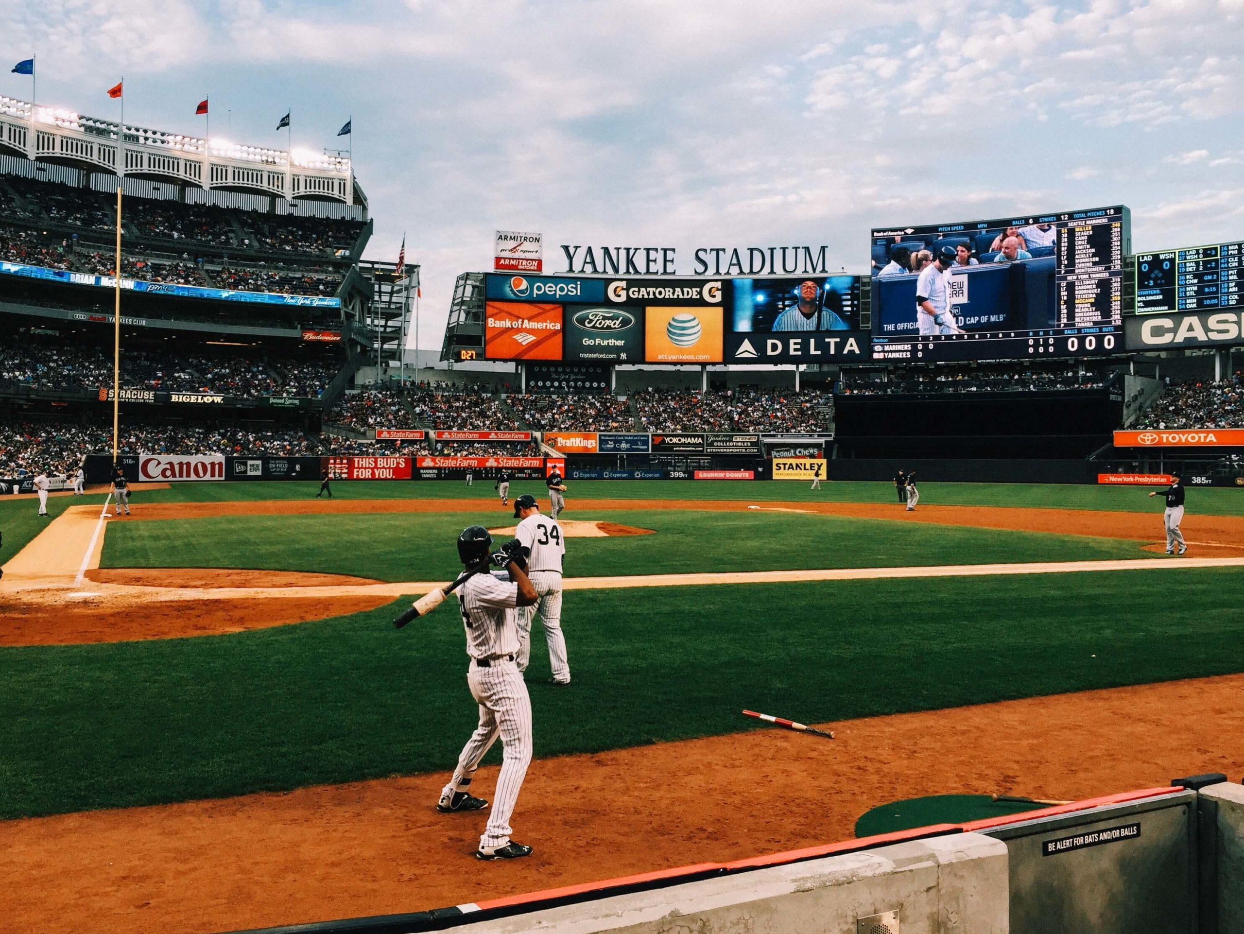 Yankee Stadium baseball ballplark