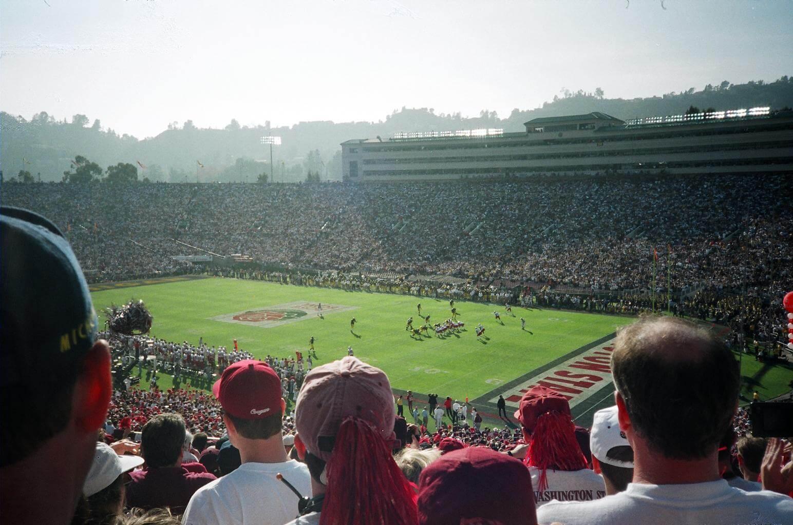 Rose Bowl stadium game