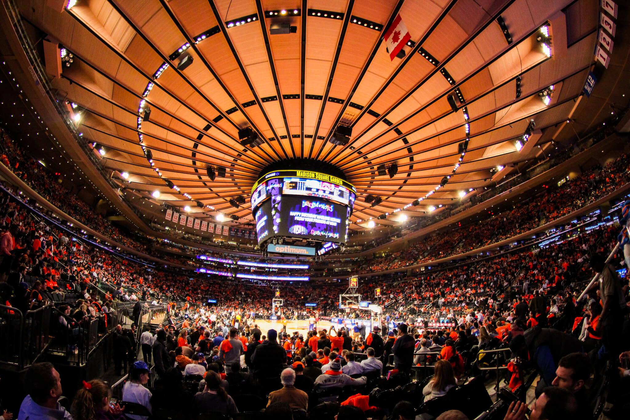Madison Square Garden stadium