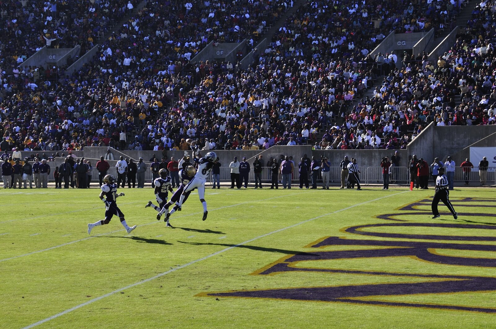 Alcorn State fans football game