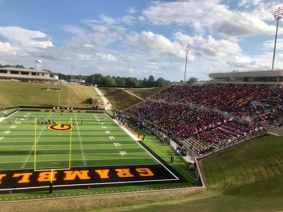 Grambling State stadium fans football game