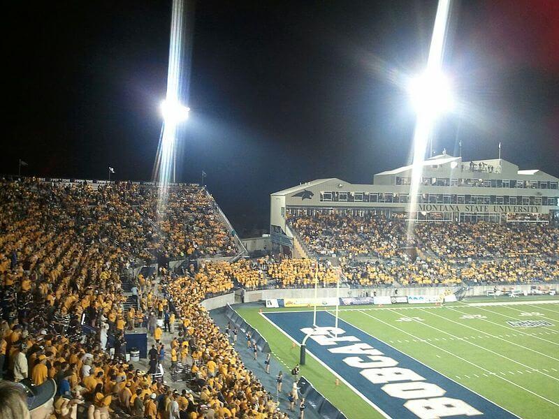 Montana State football fans