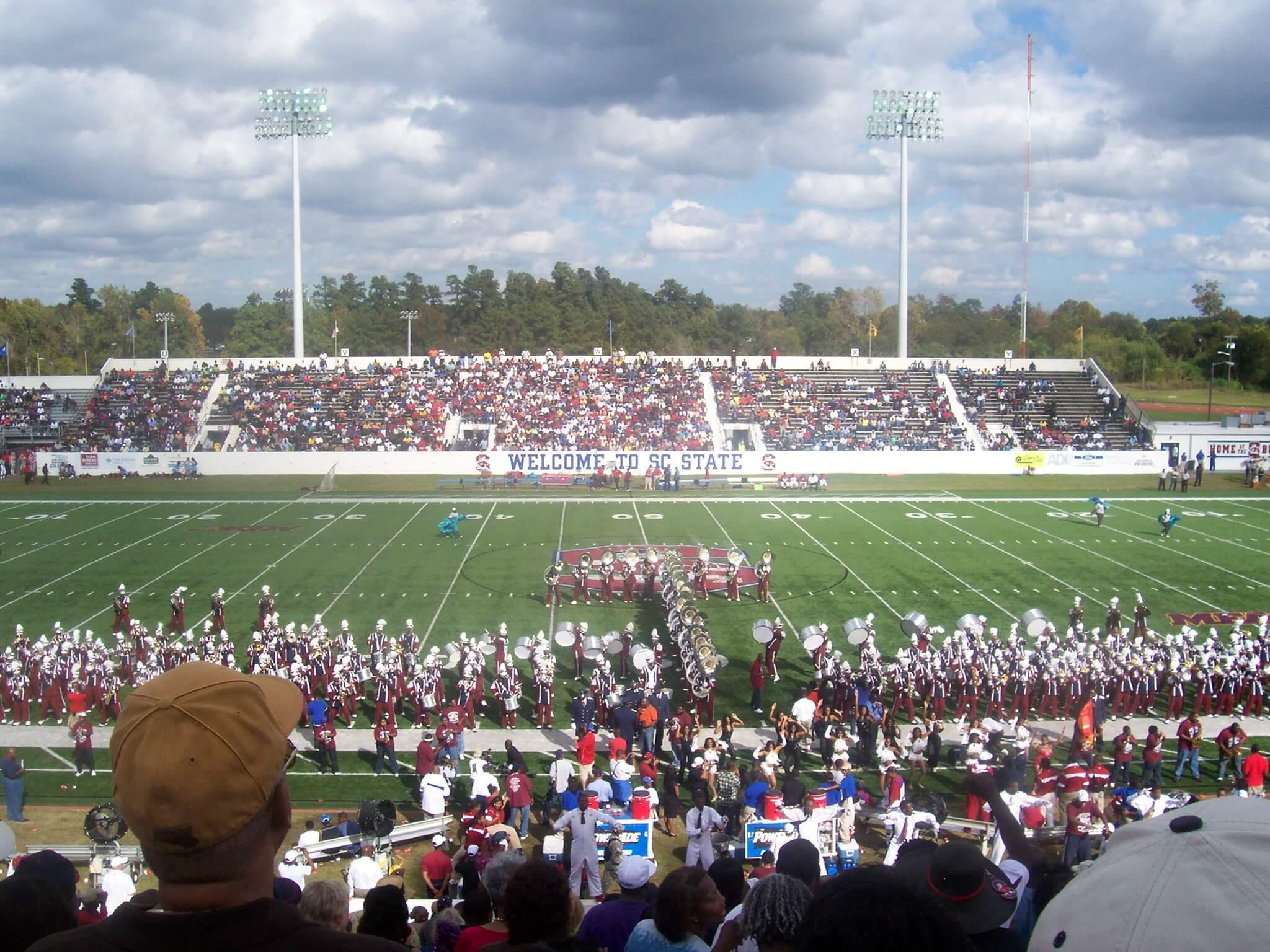 South Carolina State football game