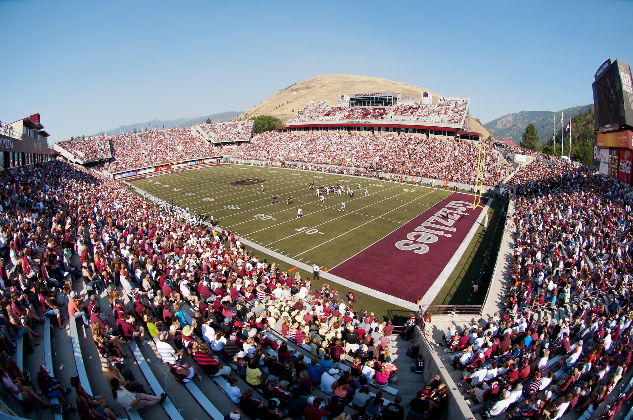 Montana football game