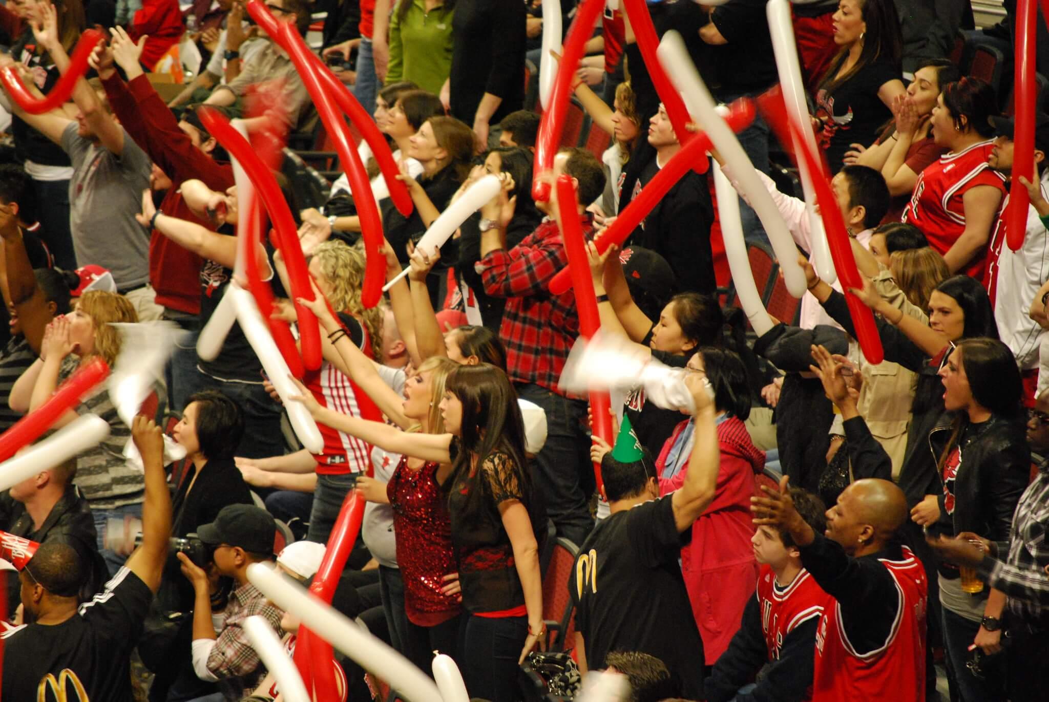 Chicago Bulls fans