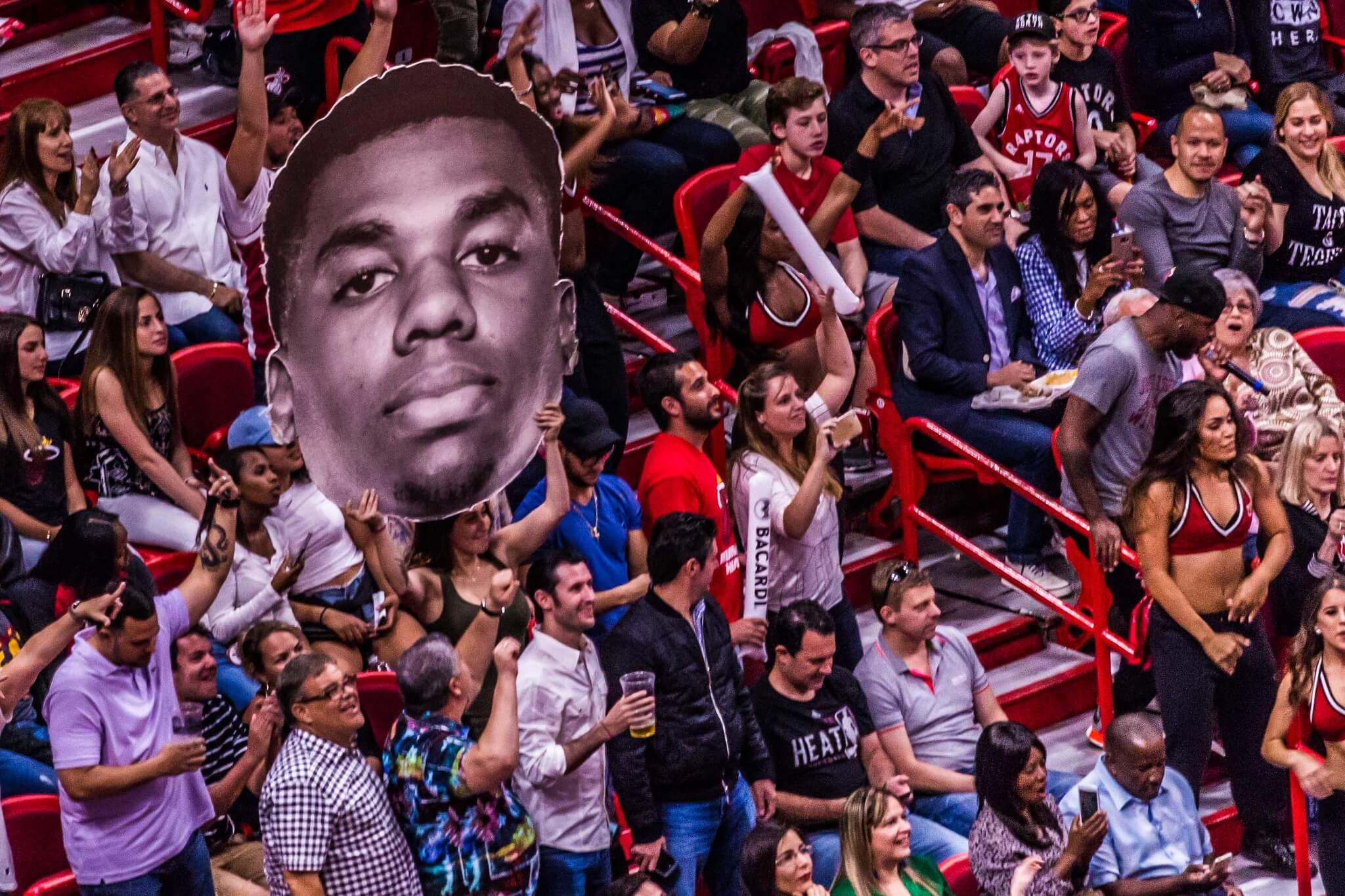 Miami Heat fans