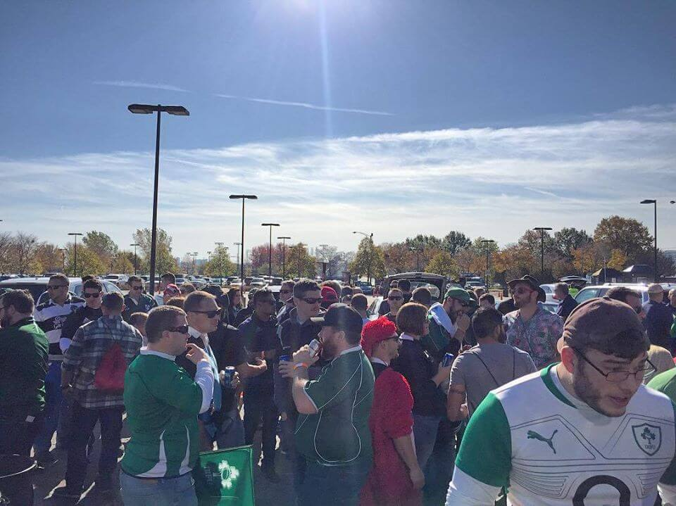 Rugby tailgating
