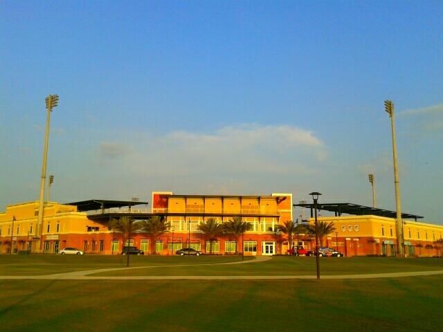 Blue Wahoos Field ballpark