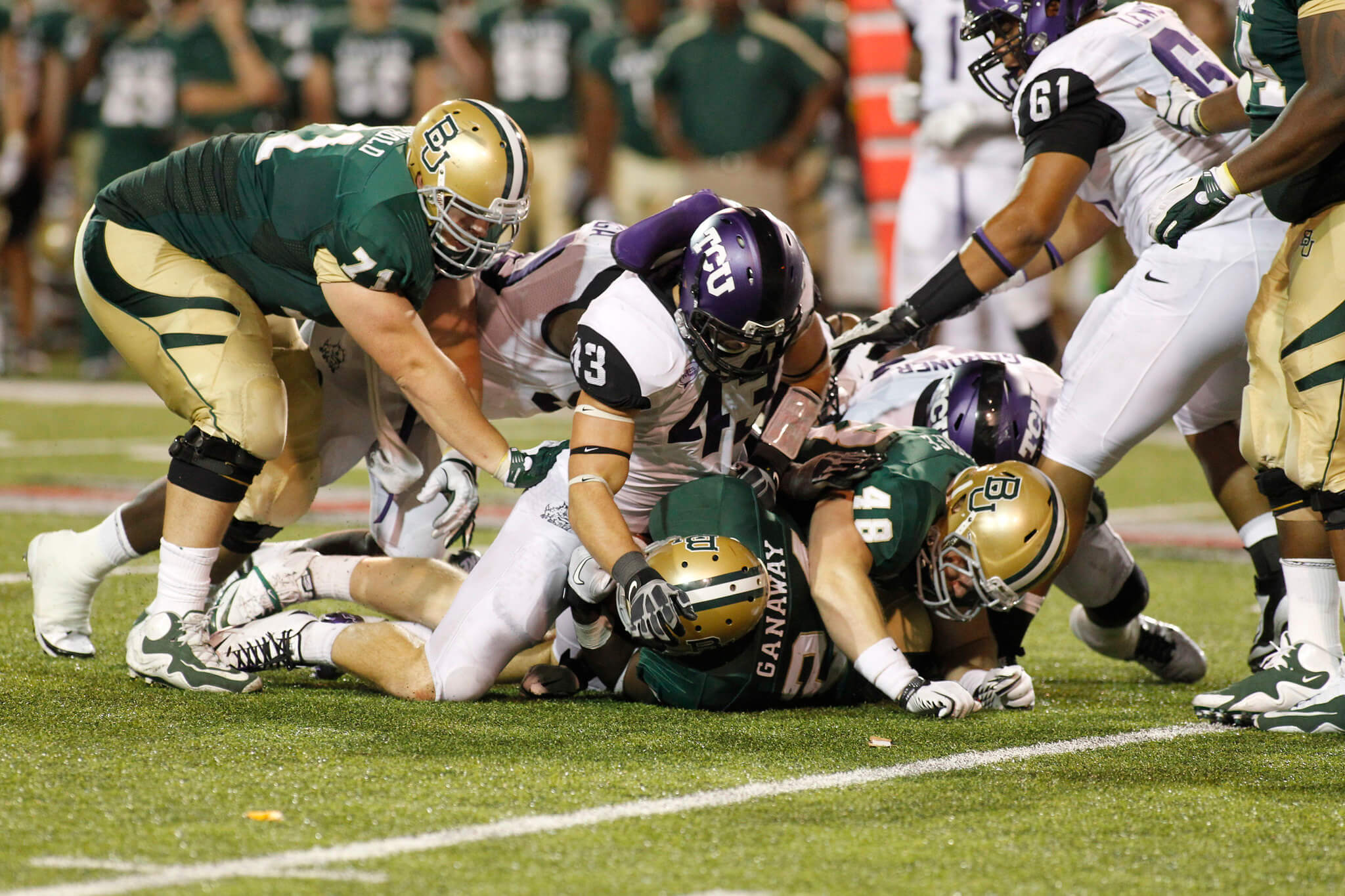 Baylor vs TCU The Revivalry football game