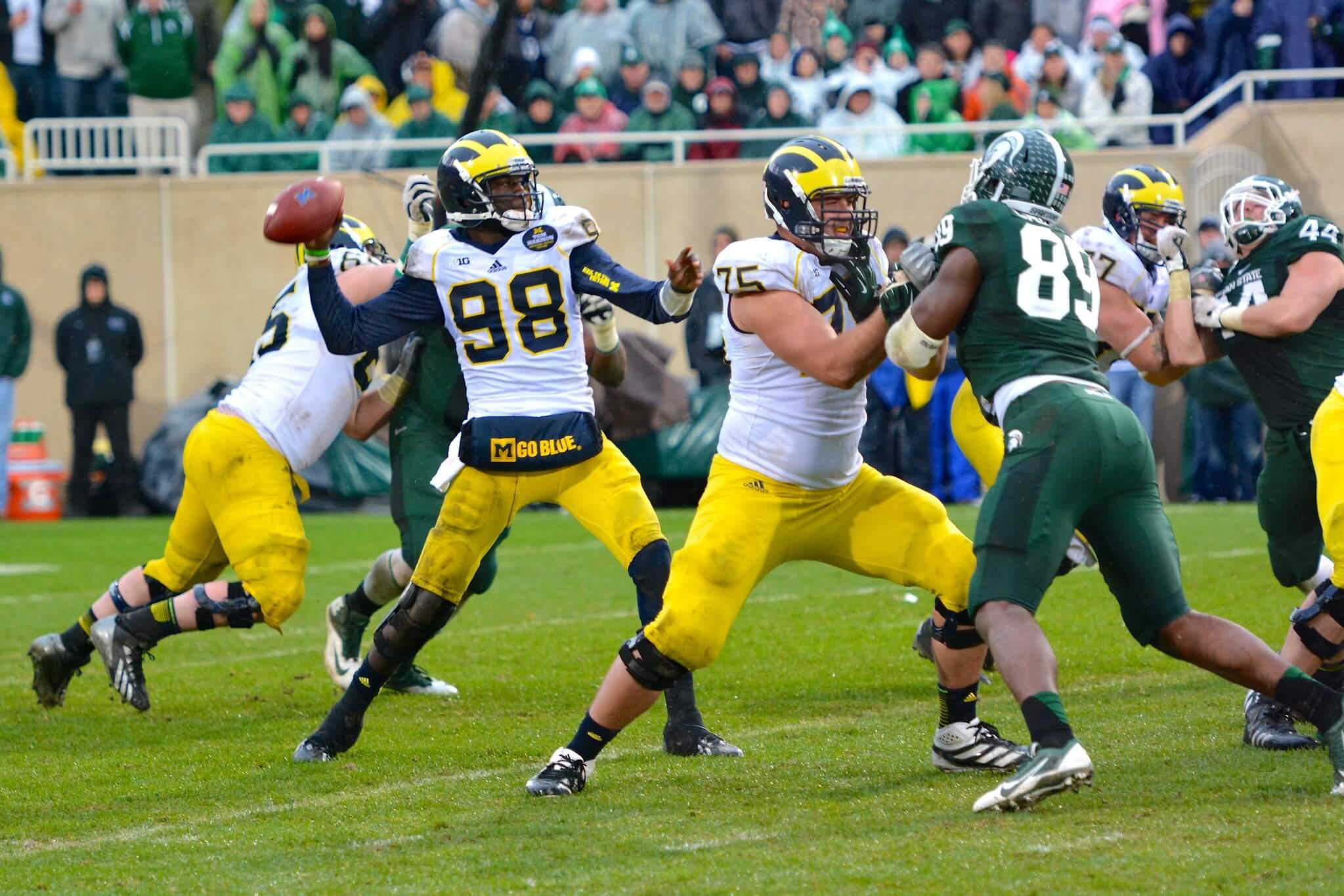 Michigan vs Michigan State football game