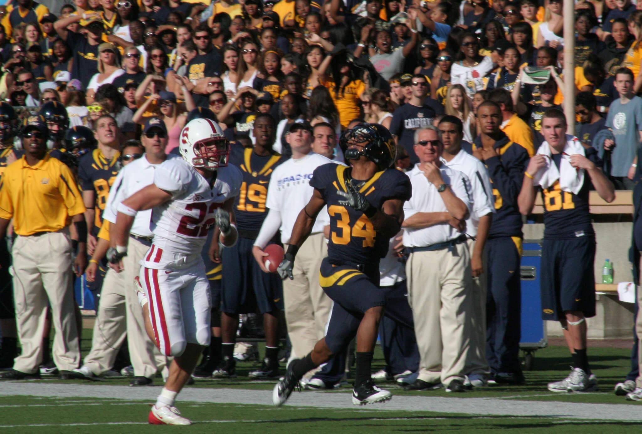 California vs Stanford The Big Game football