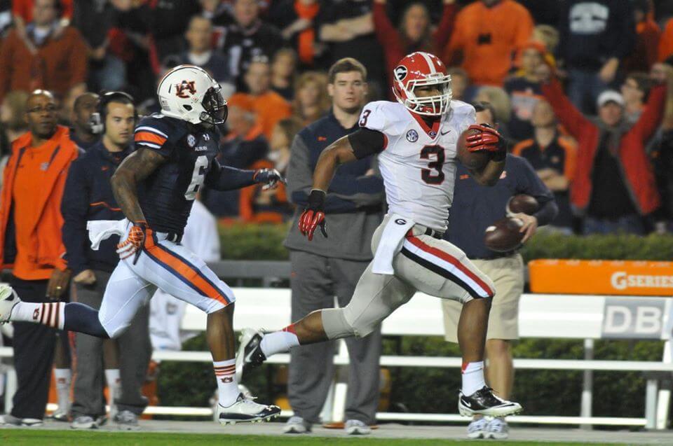 Auburn vs Georgia football game