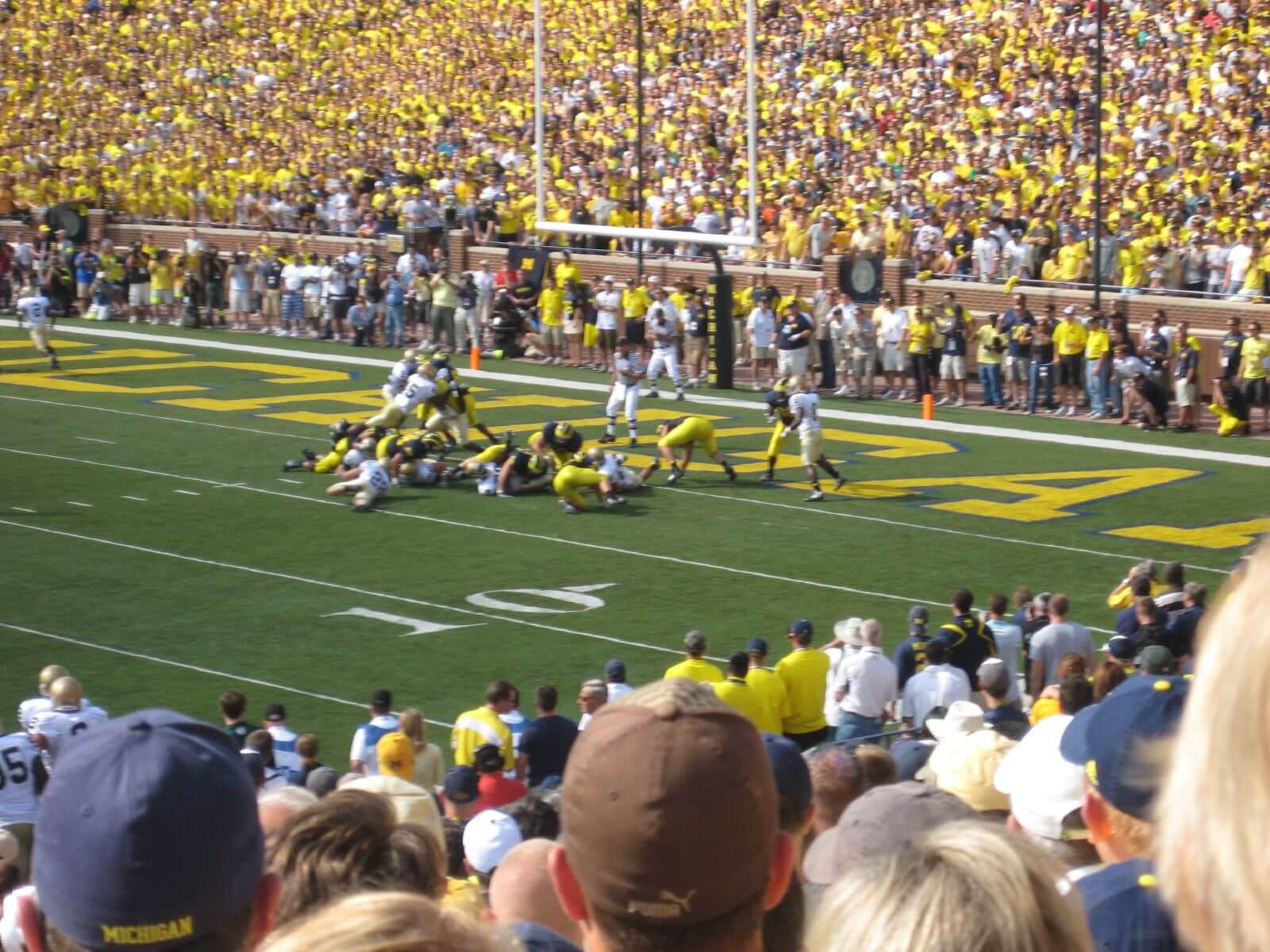 Michigan vs Notre Dame football game