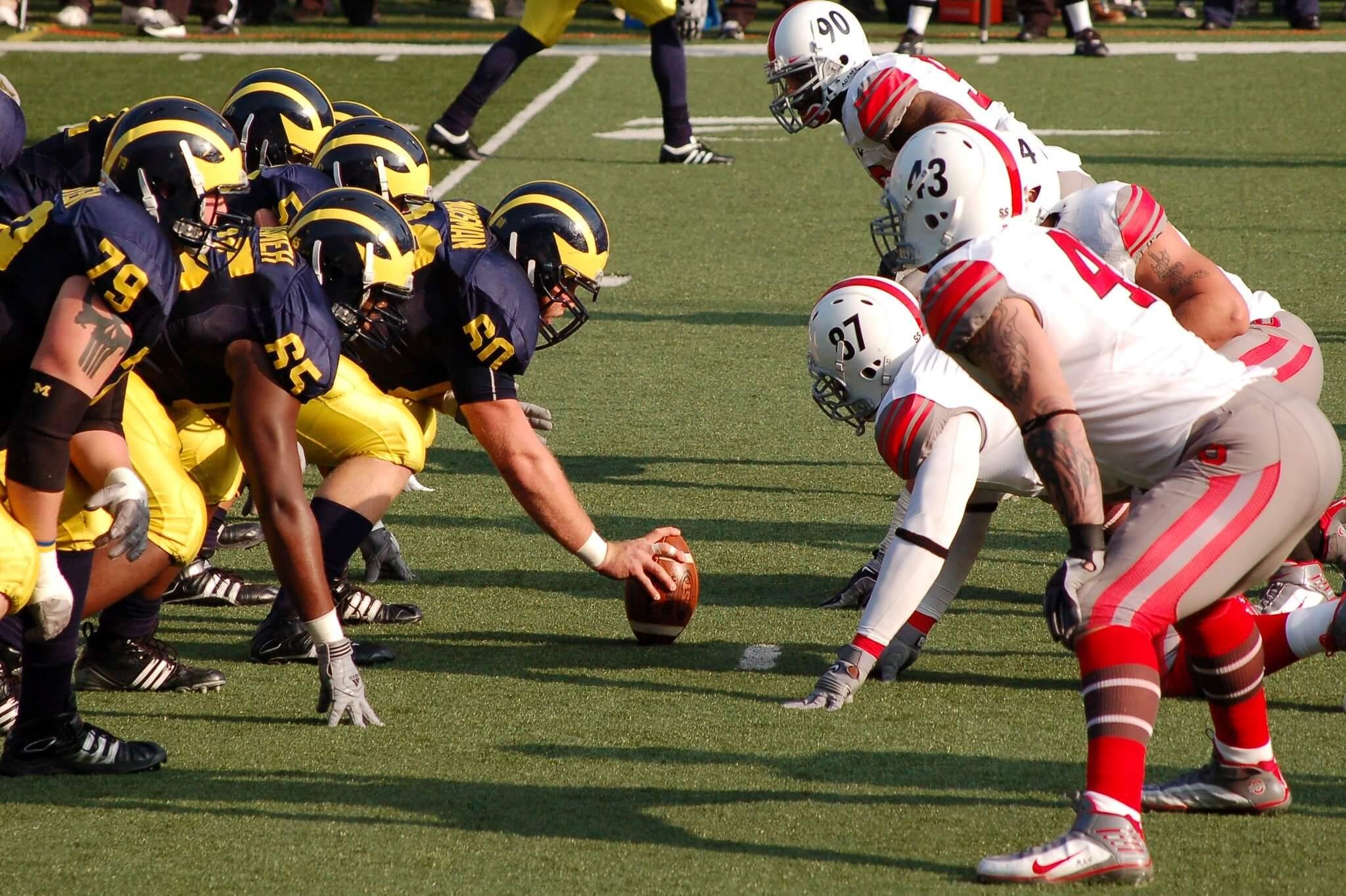 Michigan vs Ohio State The Game football
