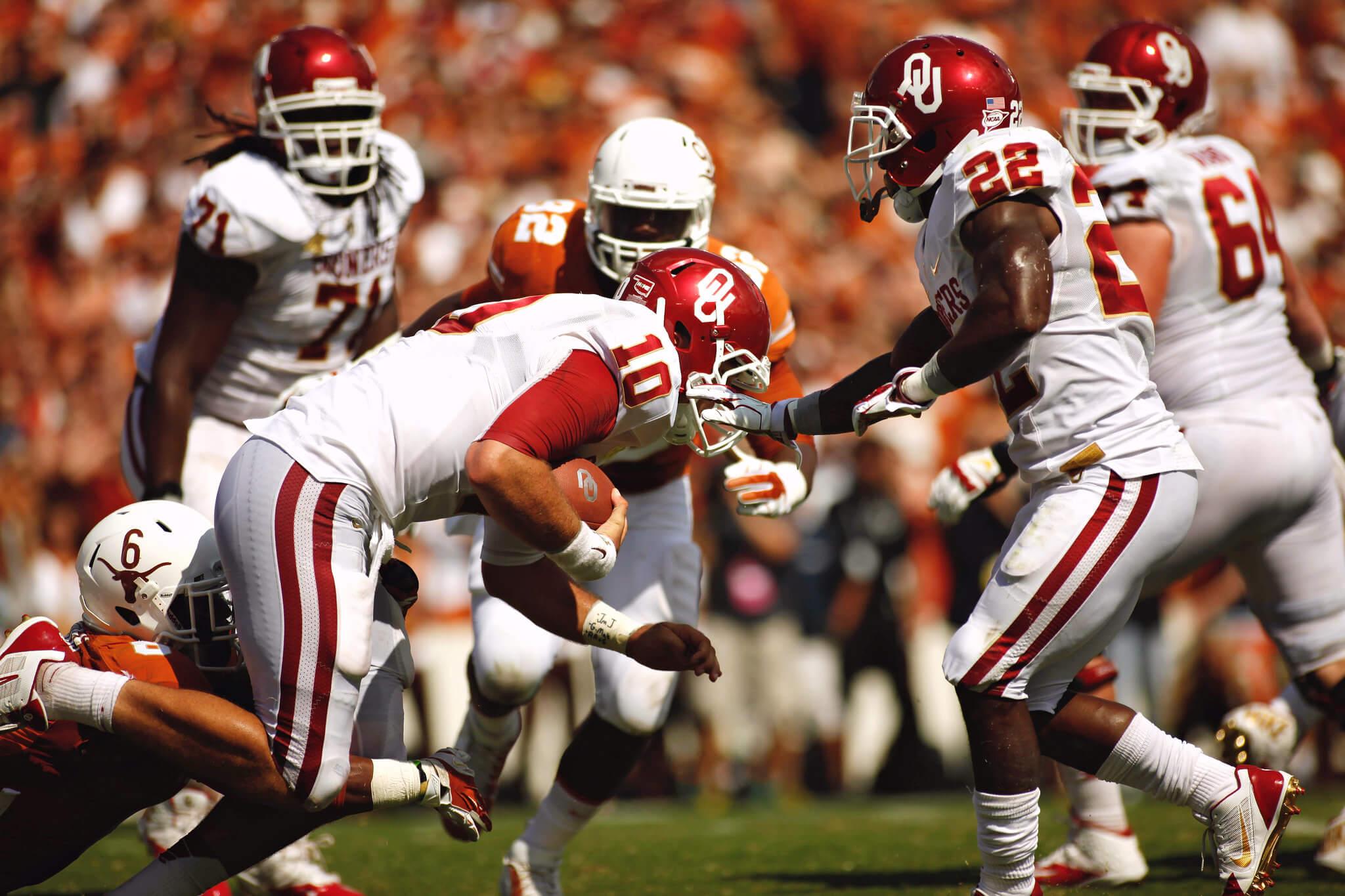 Oklahoma vs Texas Red River Rivalry