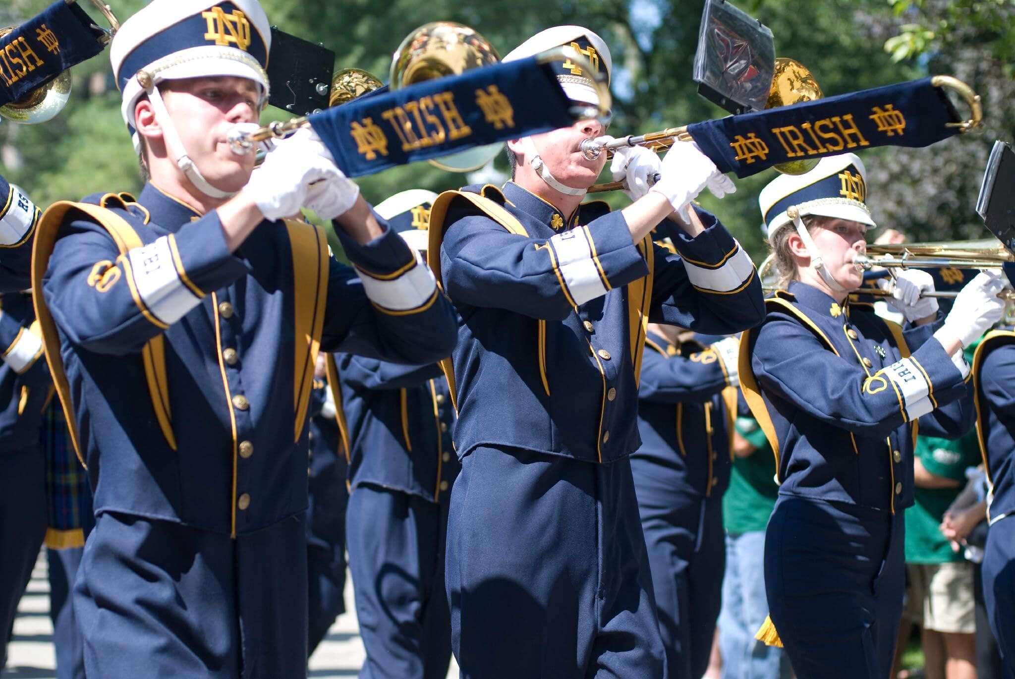 Band of the Fighting Irish Notre Dame