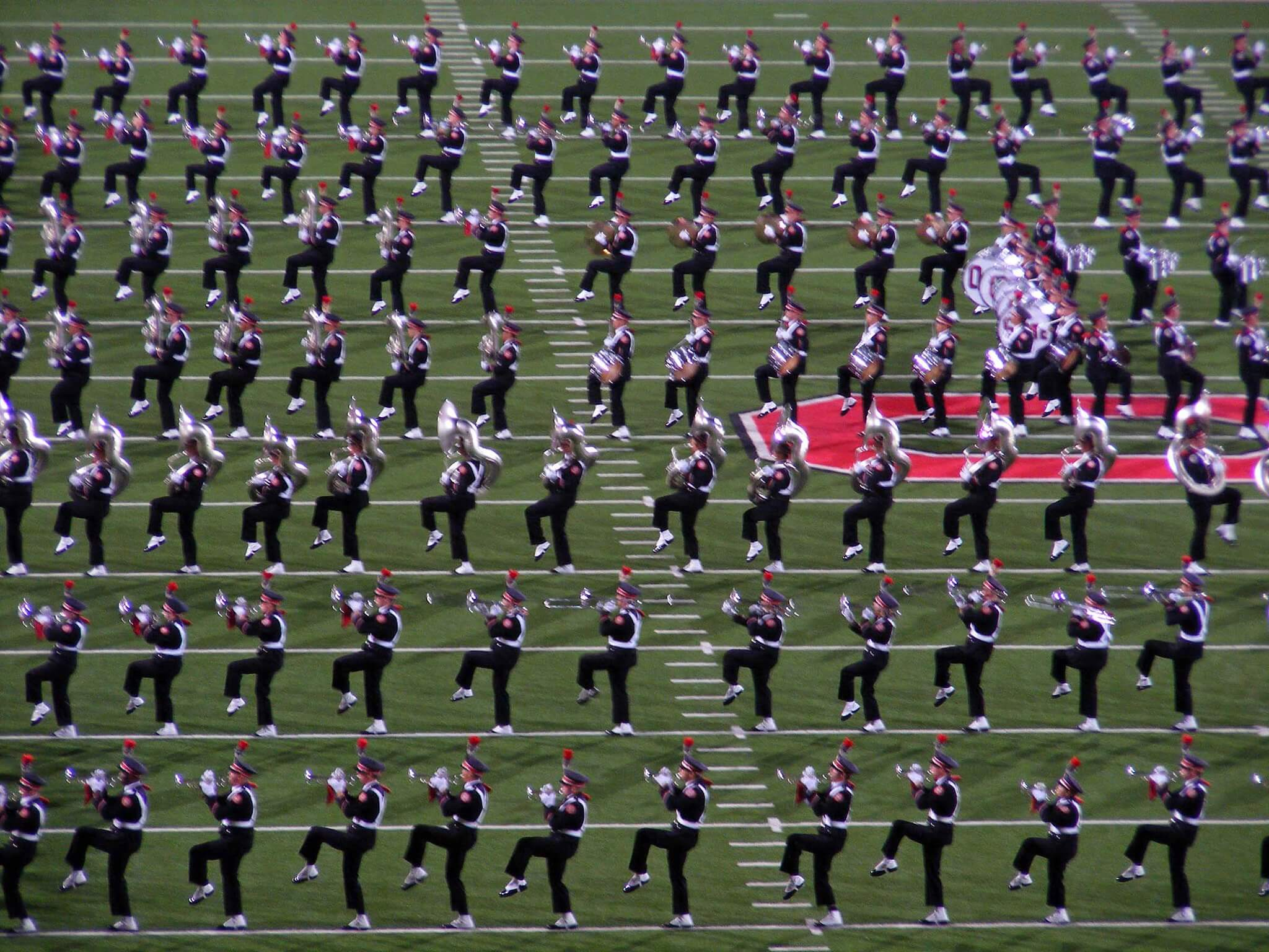 Ohio State University Marching Band Pride of the Buckeyes