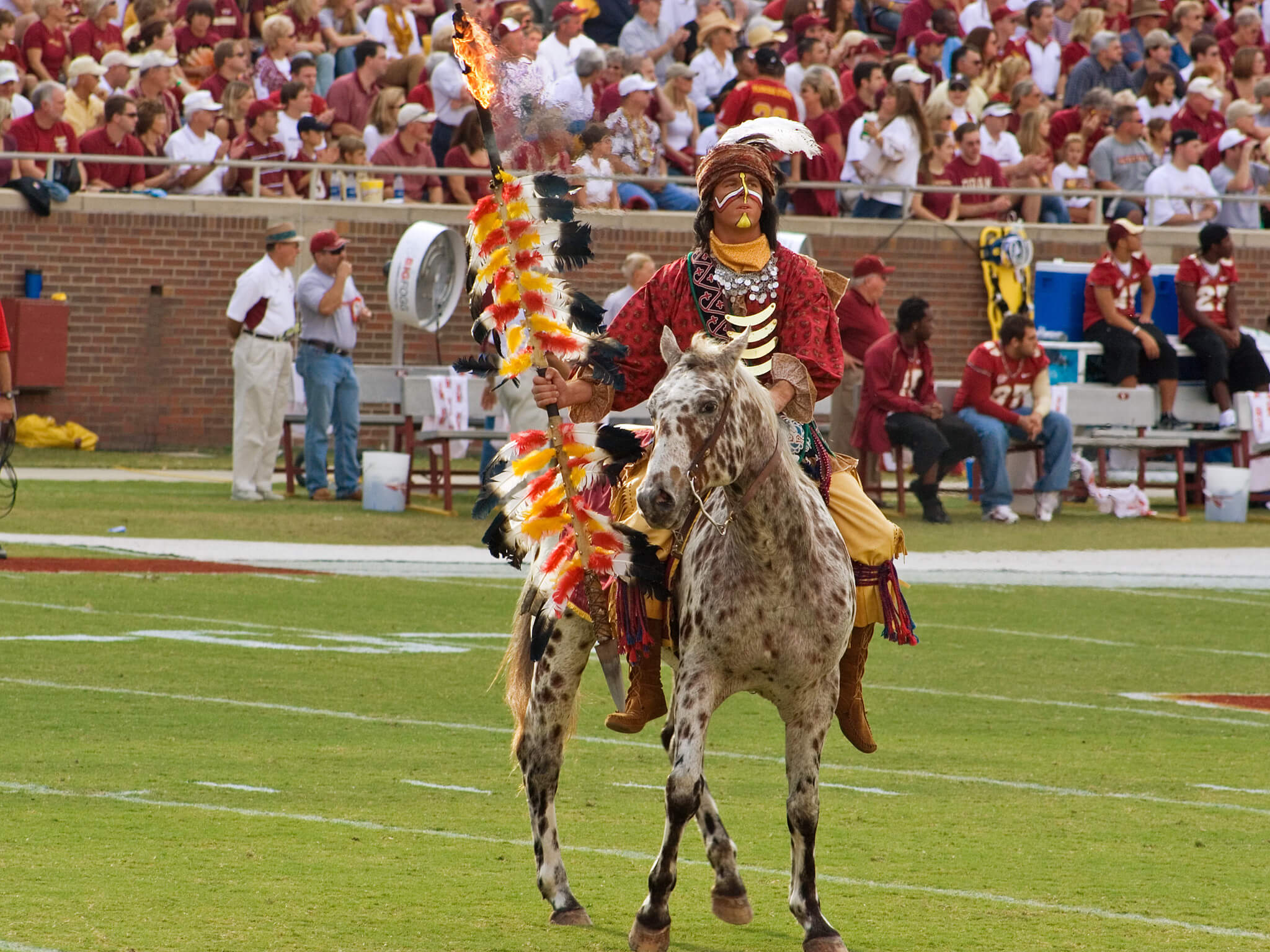 Chief Osceola And The Planting Of The Spear tradition