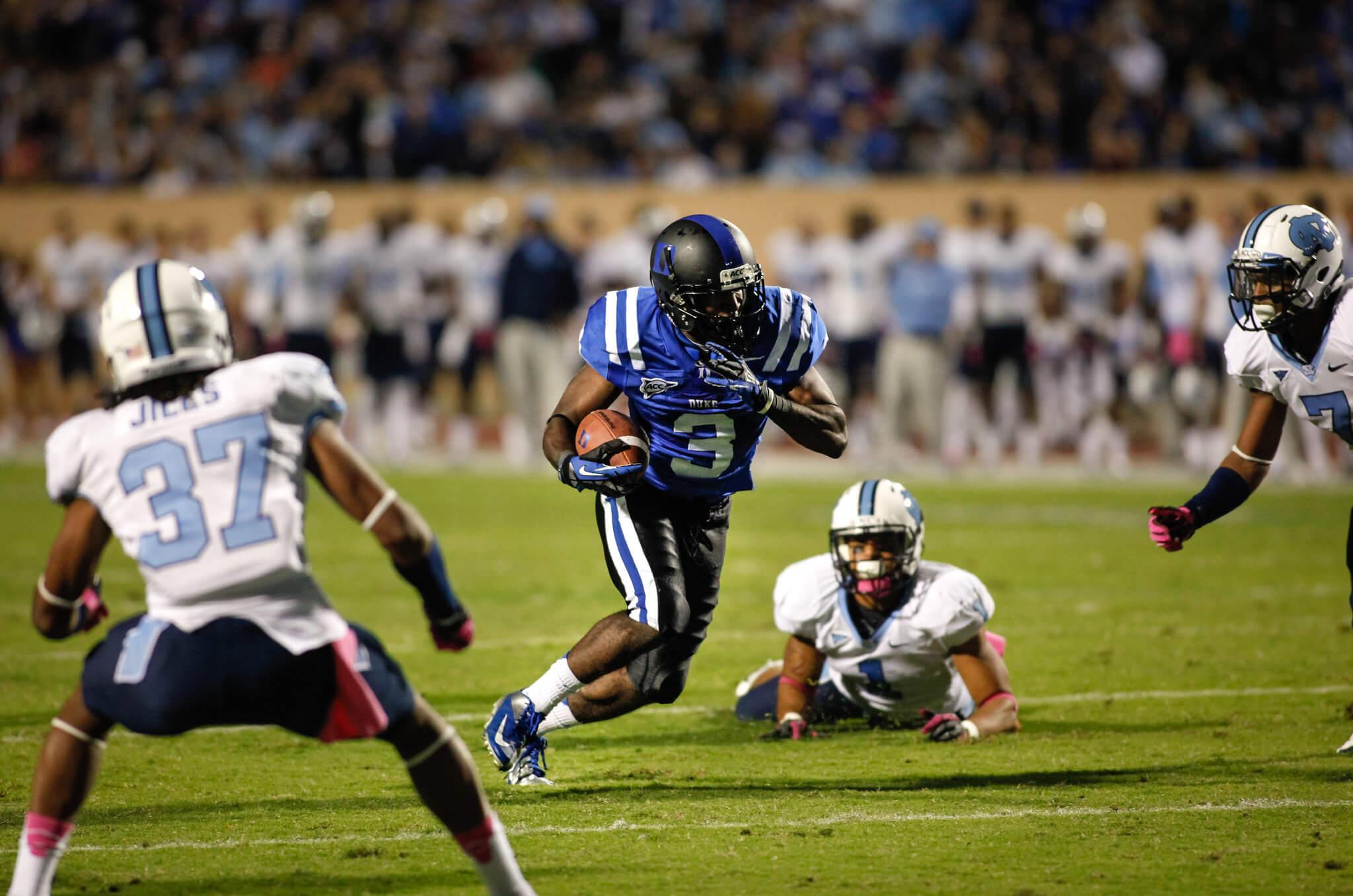 Duke vs UNC Victory Bell rivalry