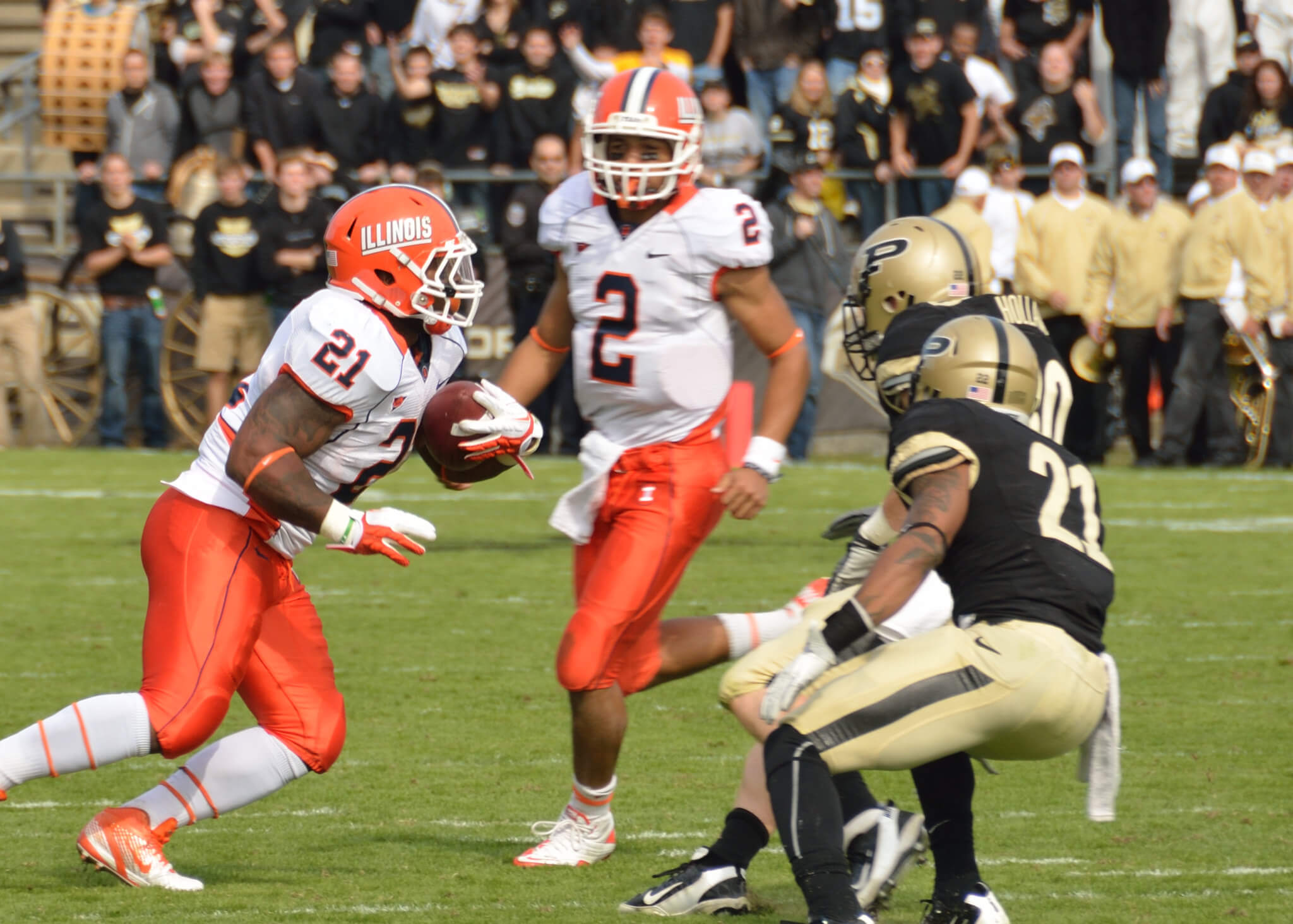 Purdue vs Illinois Purdue Cannon rivalry
