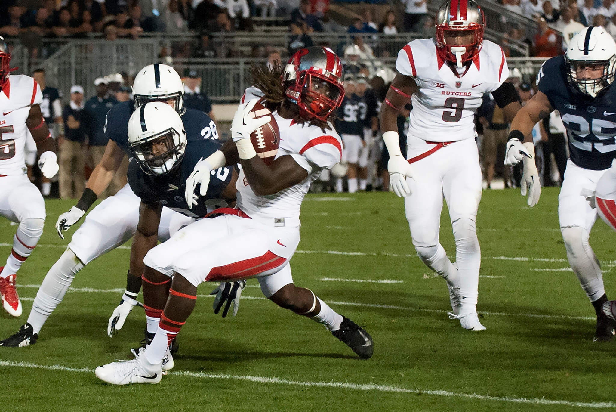 Rutgers vs Penn State rivalry