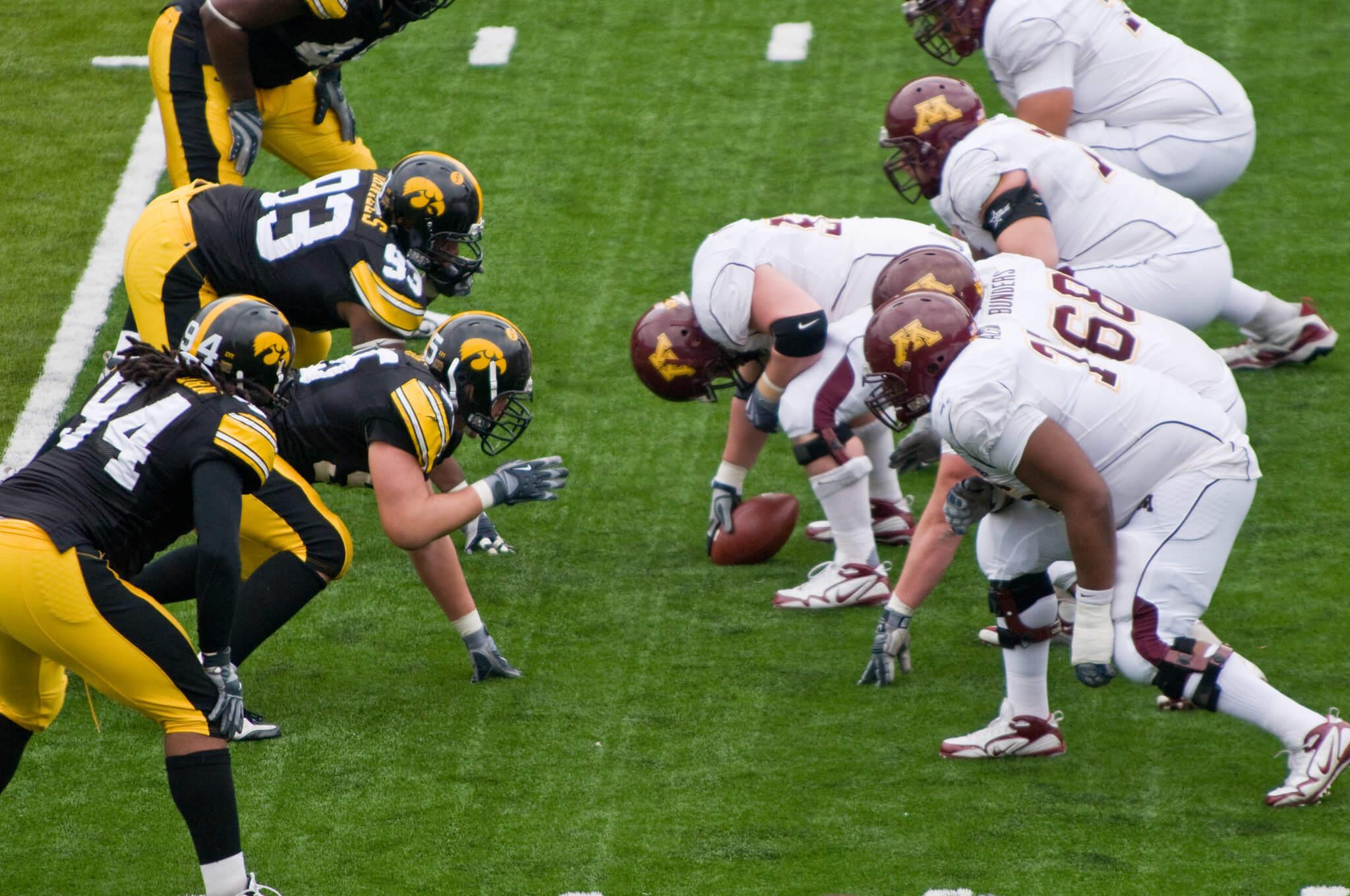Iowa vs Minnesota Floyd of Rosedale rivalry