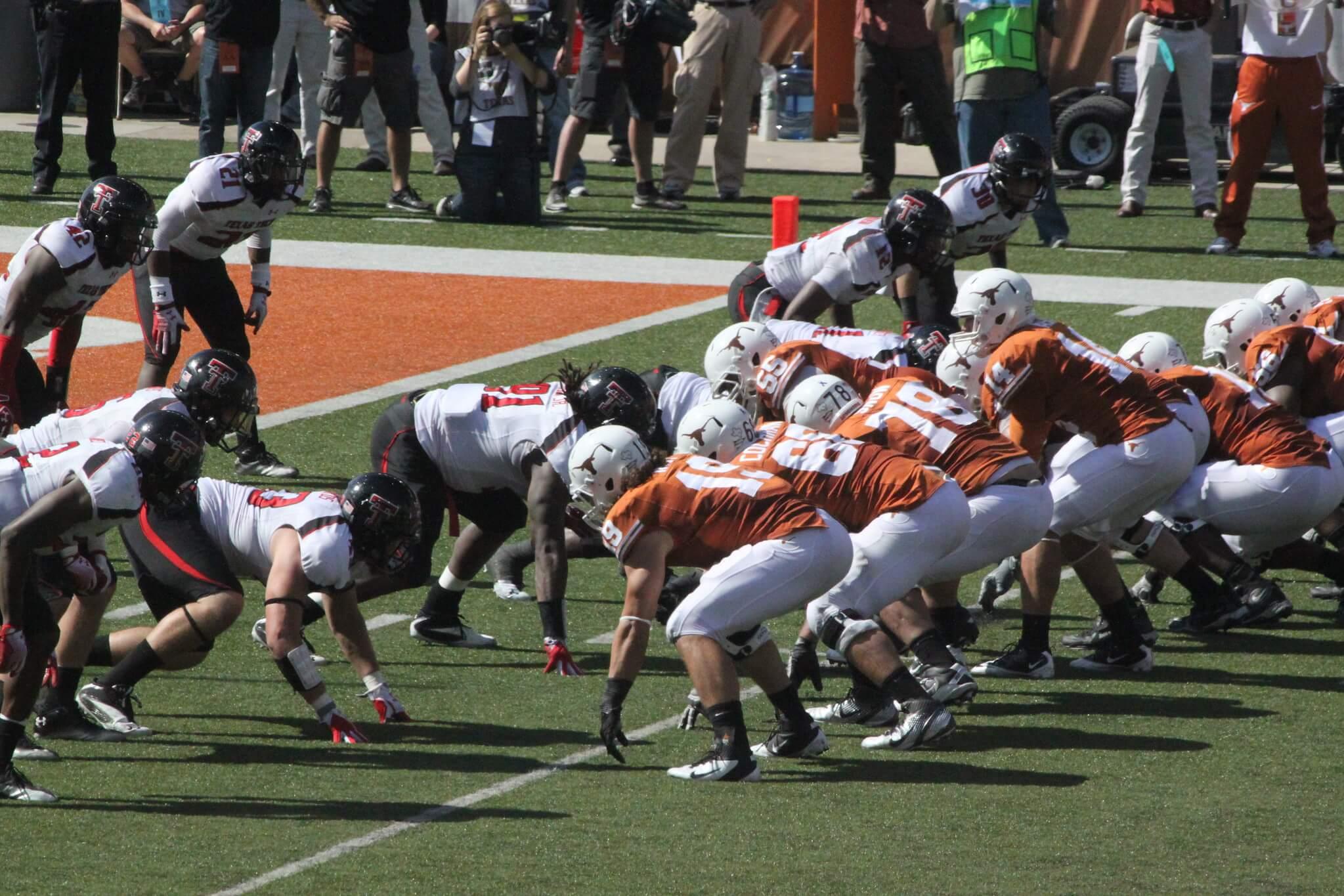 Texas vs Texas Tech Chancellors Spurs rivalry